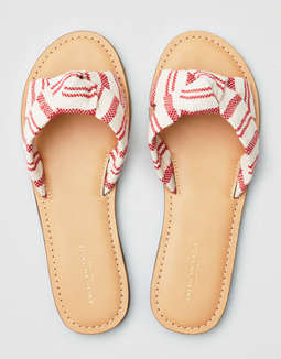 AEO Twisted Slide Sandal
