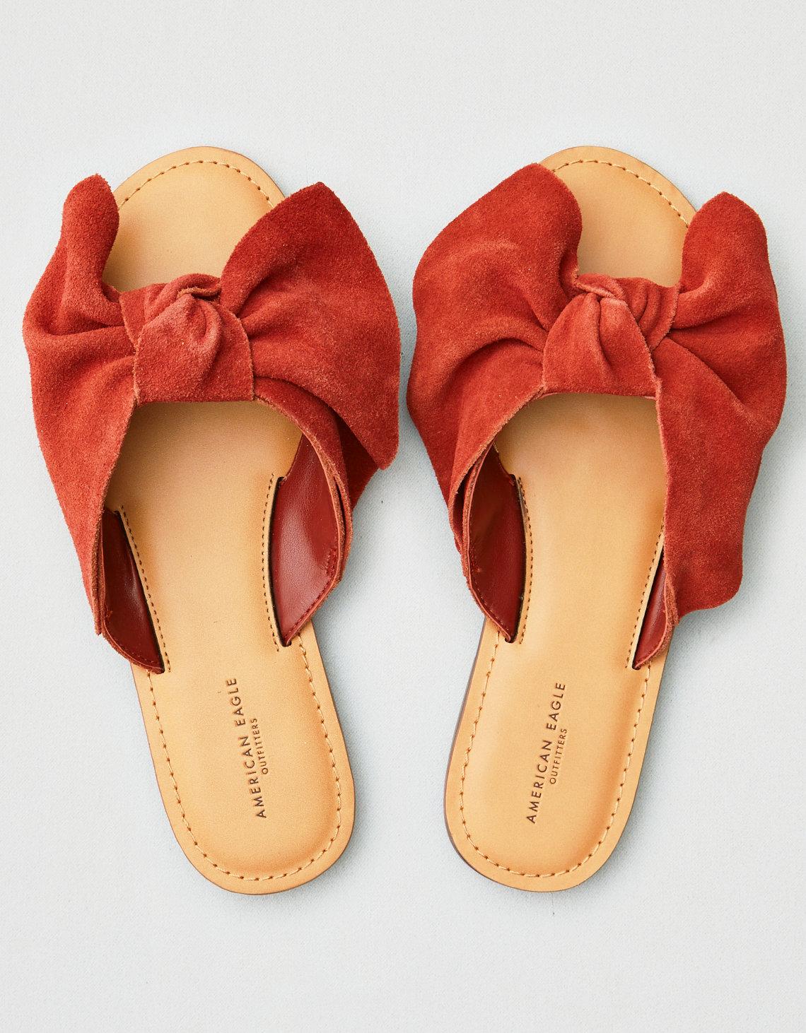 0ecdbf775 AEO Bow Slide Sandal. Placeholder image. Product Image