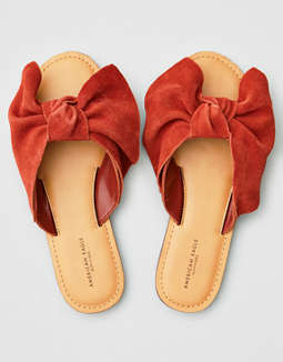 AEO Bow Slide Sandals