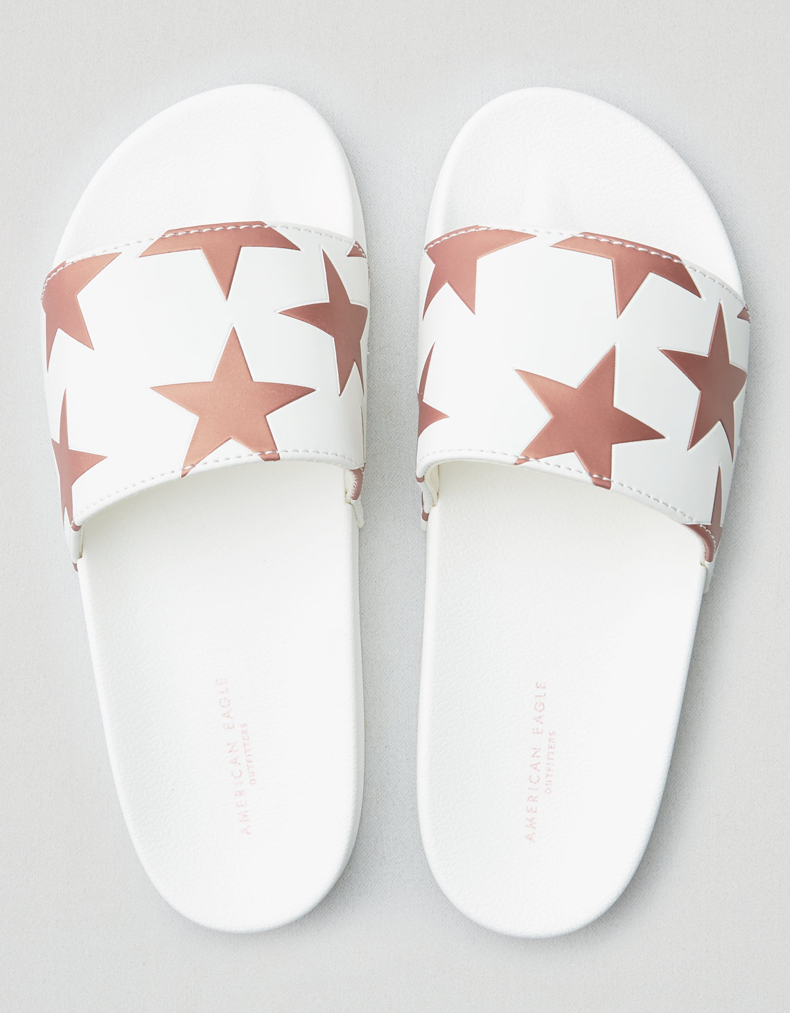 AEO Embossed Star Pool Slide Sandal