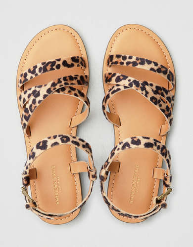 AEO Strappy Leopard Sandal