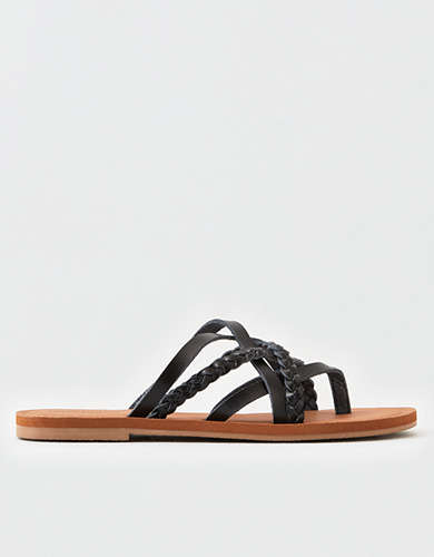 AEO Braided Strappy Sandal