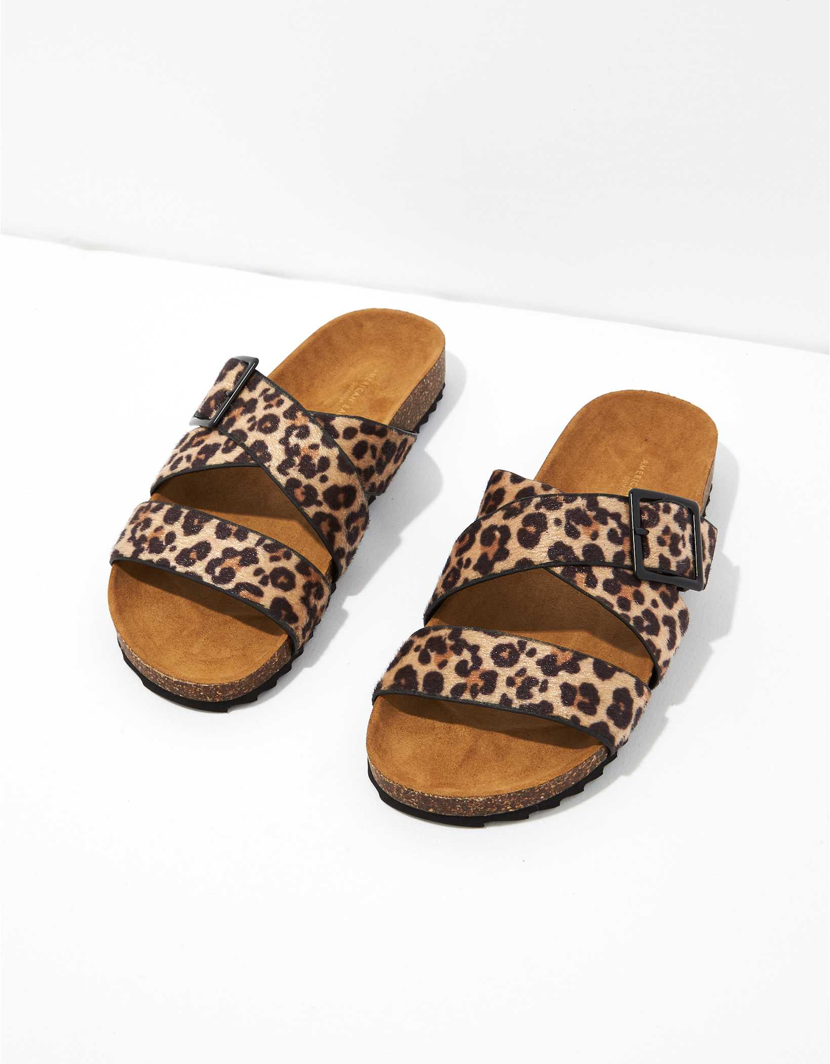 AE Animal Print Sandal