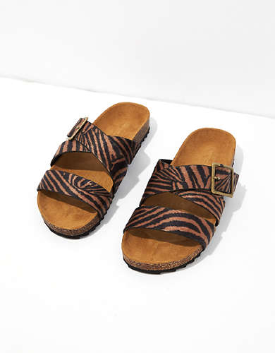 AE Animal Print Sandal