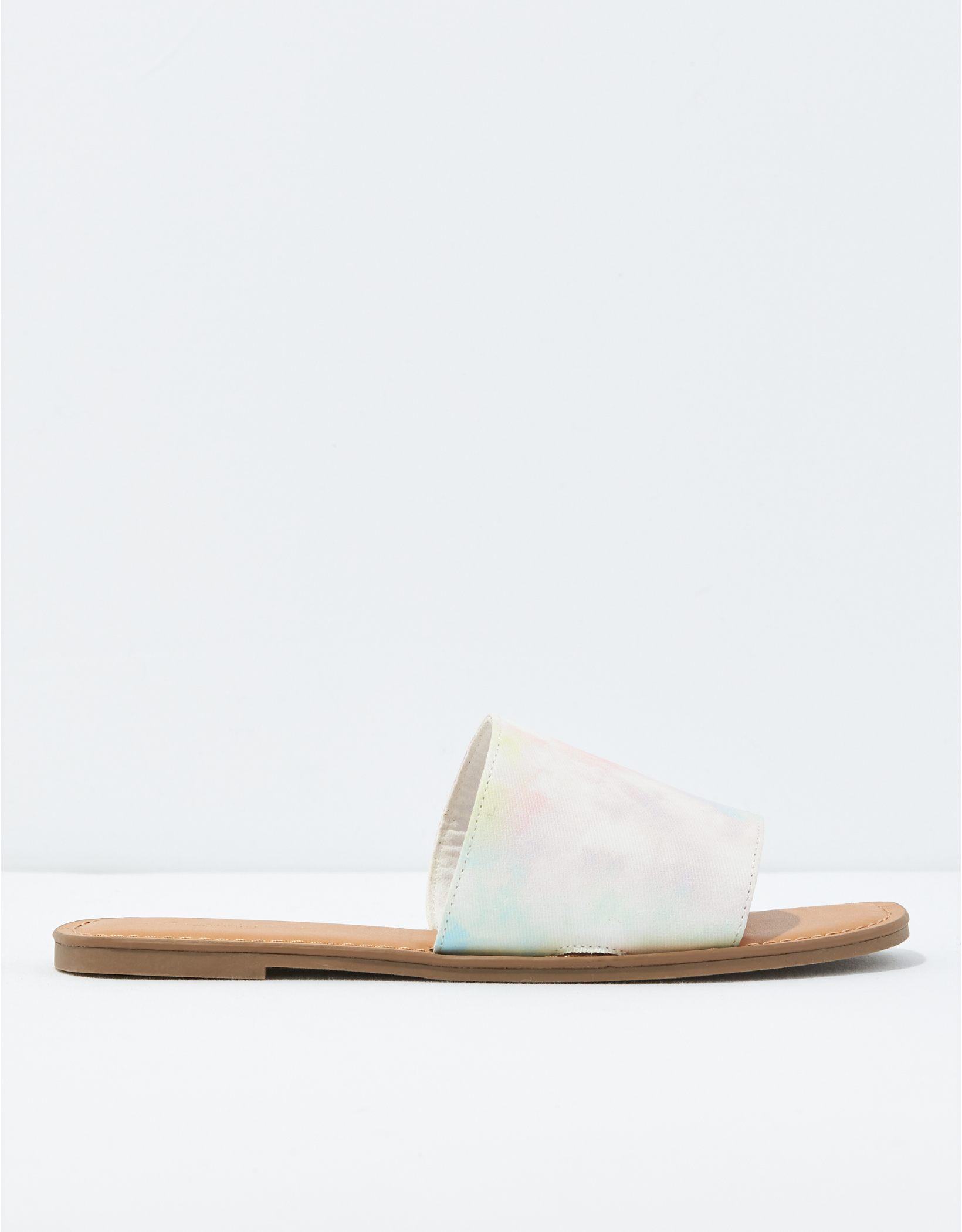 AE Tie-Dye Slide Sandal