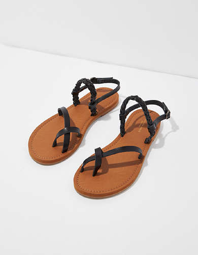 AE Braided Toe Ring Sandal