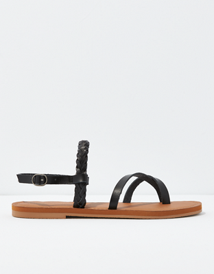 AE Braided Toe Ring Sandal
