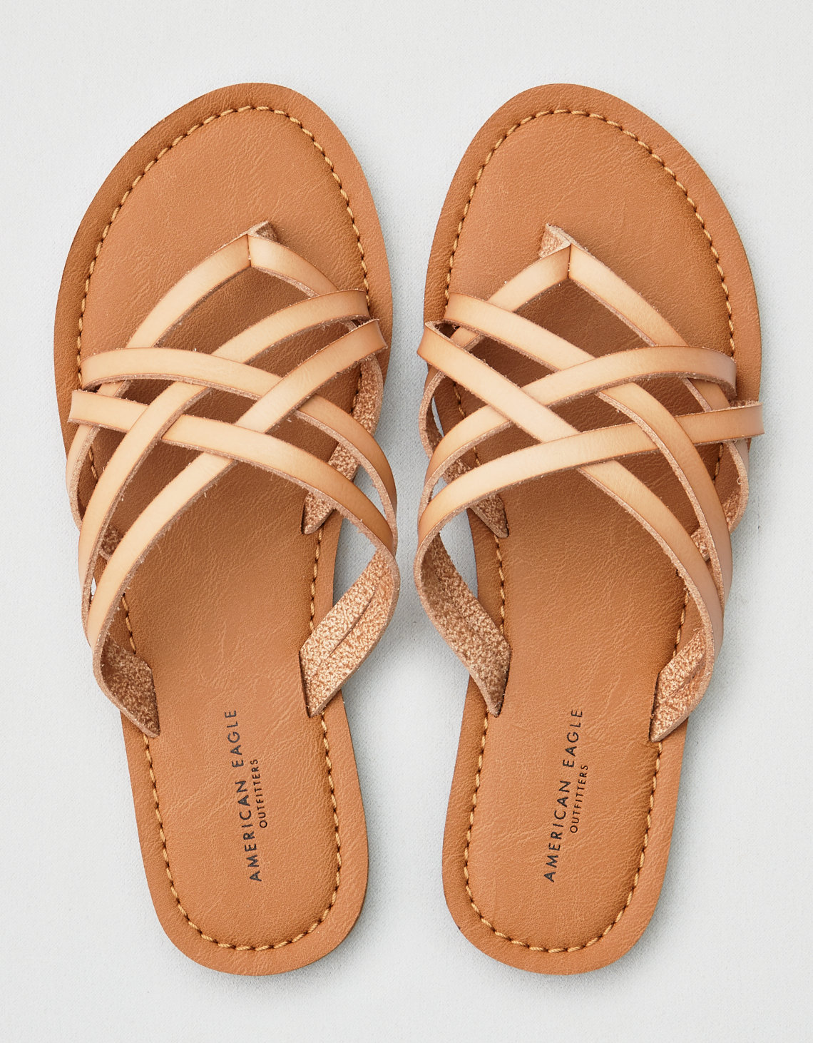 93f5779f6be AEO Strappy Slide Sandals
