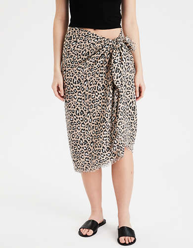 AE Leopard Sarong