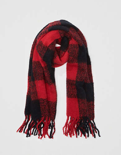 AE Plaid Scarf