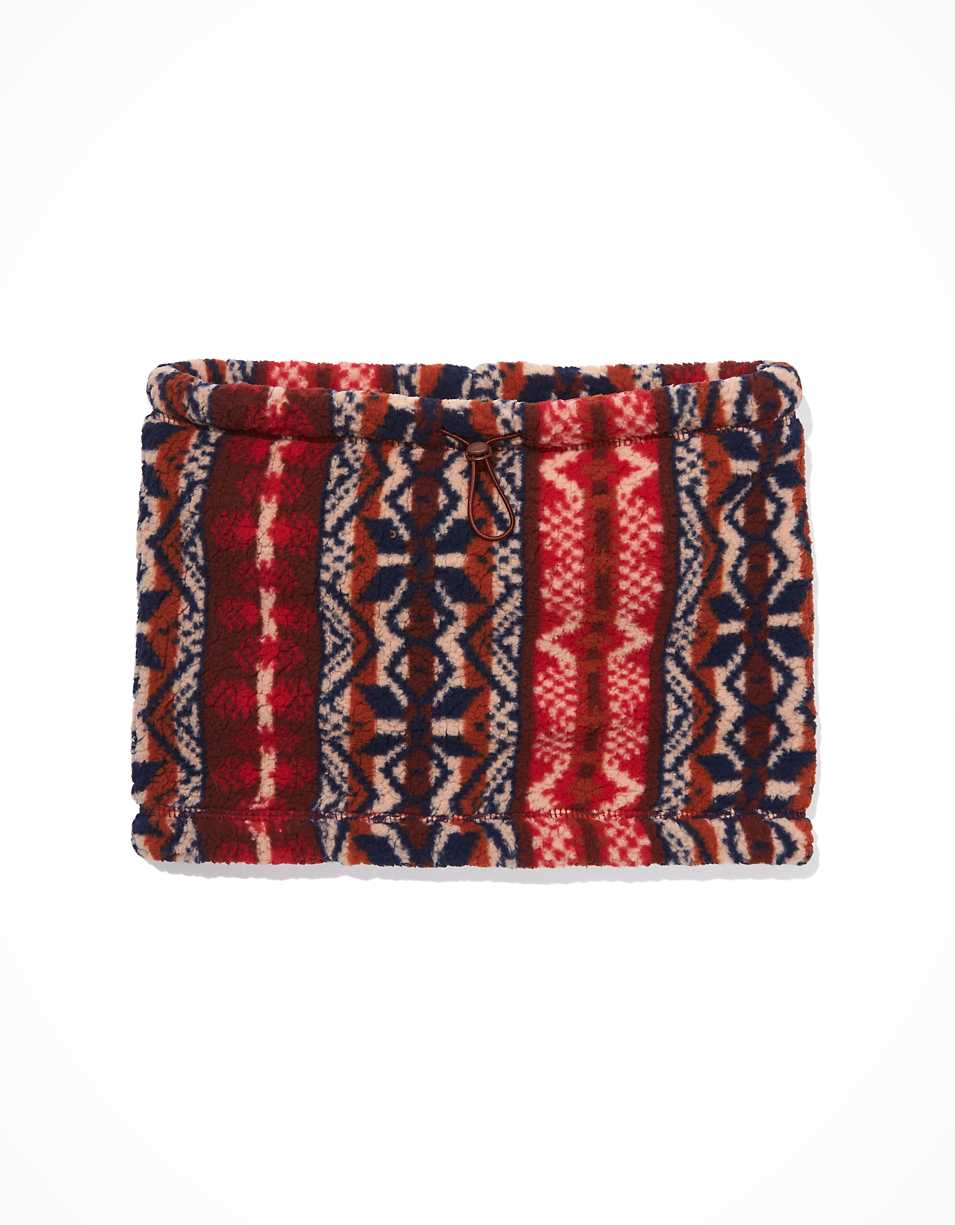AE Fairisle Sherpa Neck Warmer