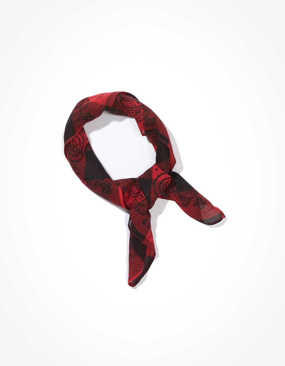 AE Plaid Bandana