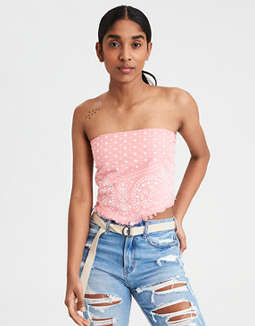 Aeo Bandana Top by American Eagle Outfitters
