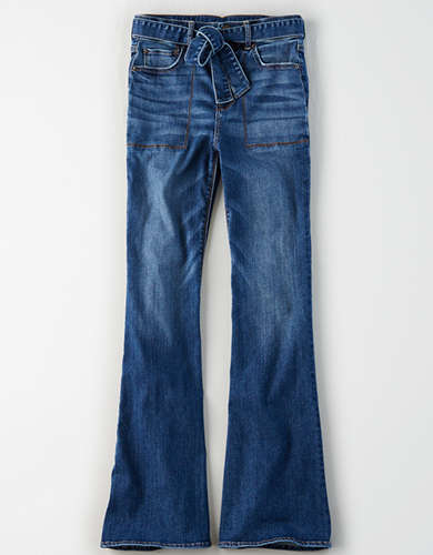 AE Ne(X)t Level Highest Waist Flare Jean