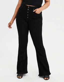 Ae Ne(X)T Level Highest Waist Flare Jean by American Eagle Outfitters
