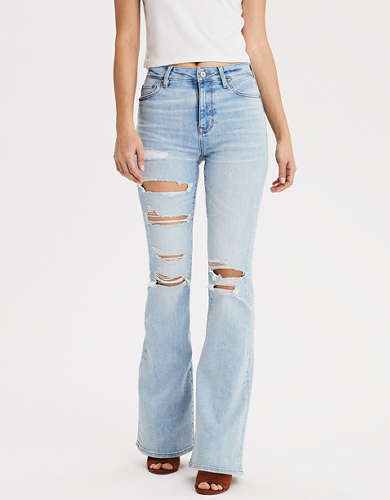Super High-Waisted Flare Jean