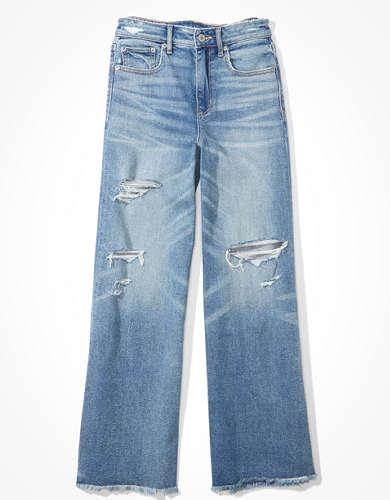 מכנסי ג'ינס רחבים אמריקן איגל