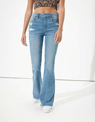AE Super High-Waisted Flare Jean