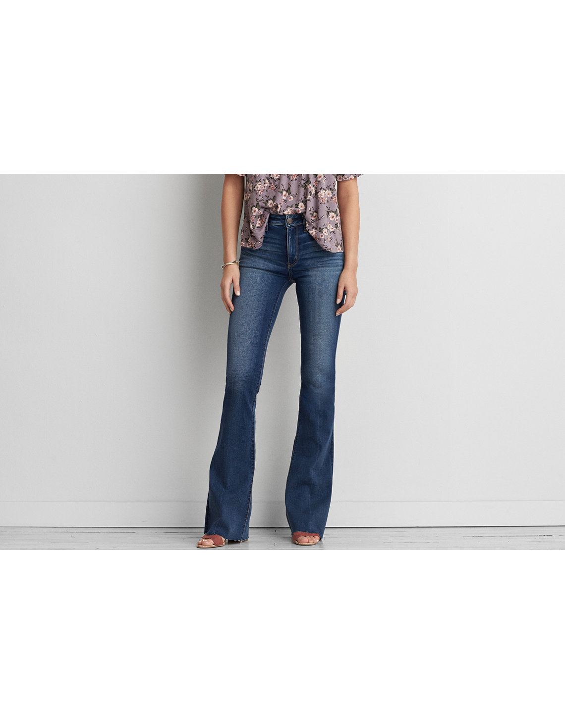 AEO Denim X Hi-Rise Slim Flare Jean, Had A Cool Moment | American ...