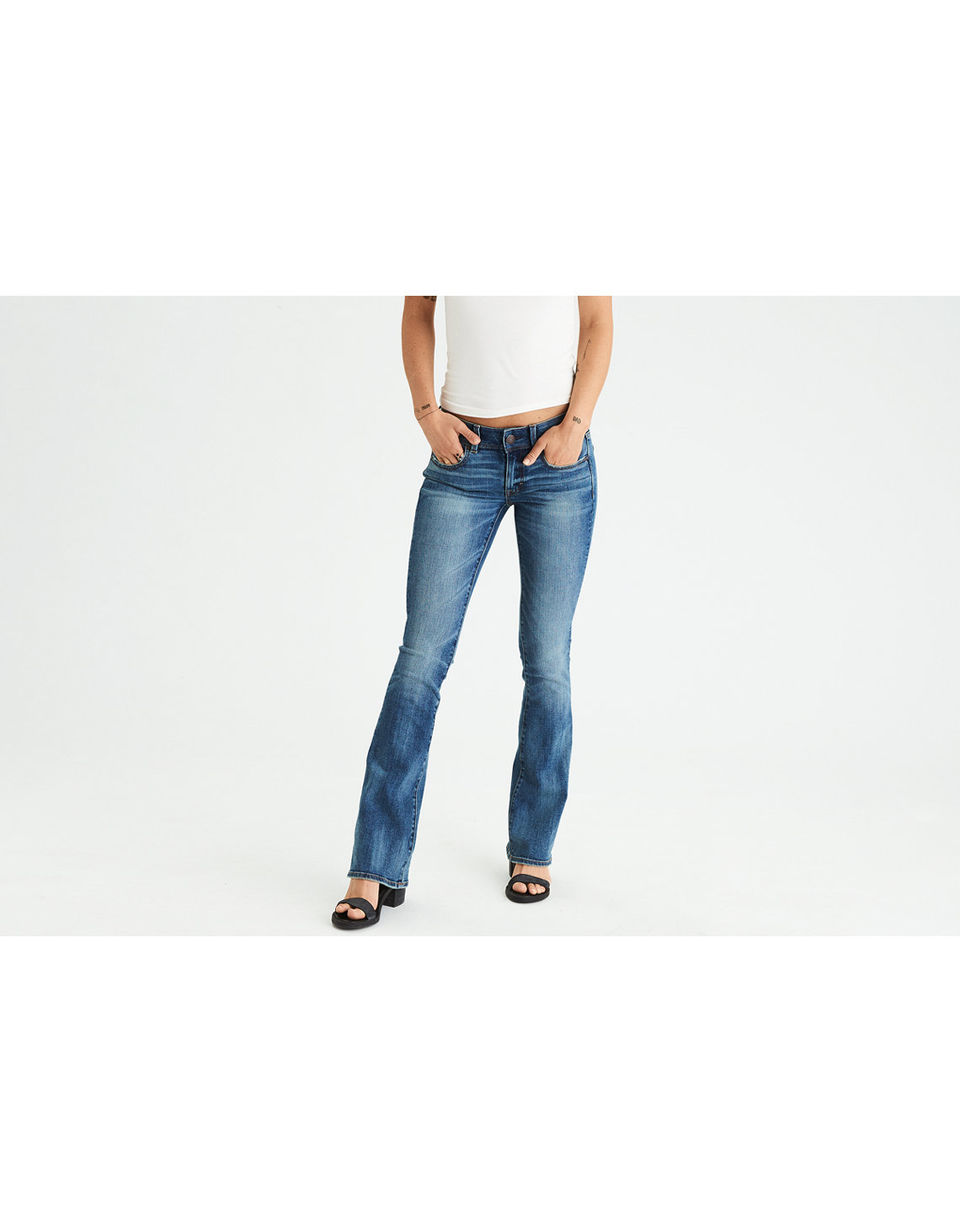 American eagle long skinny jeans