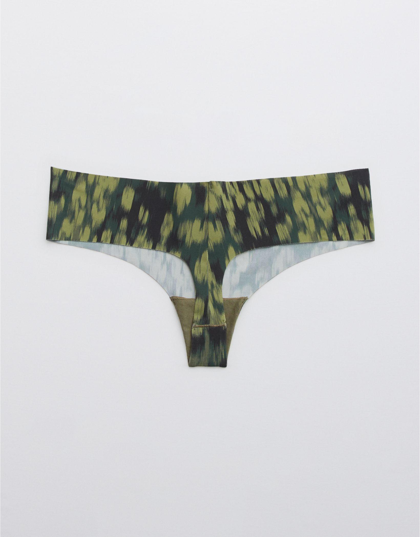 OFFLINE No Show Printed Thong Legging Underwear