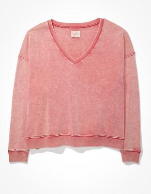 AE Fleece V-Neck Sweatshirt