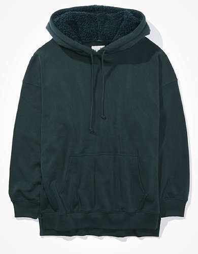 AE Forever Oversized Sherpa Lined Hoodie