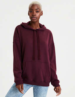 AE Fleece Drop Shoulder Hoodie