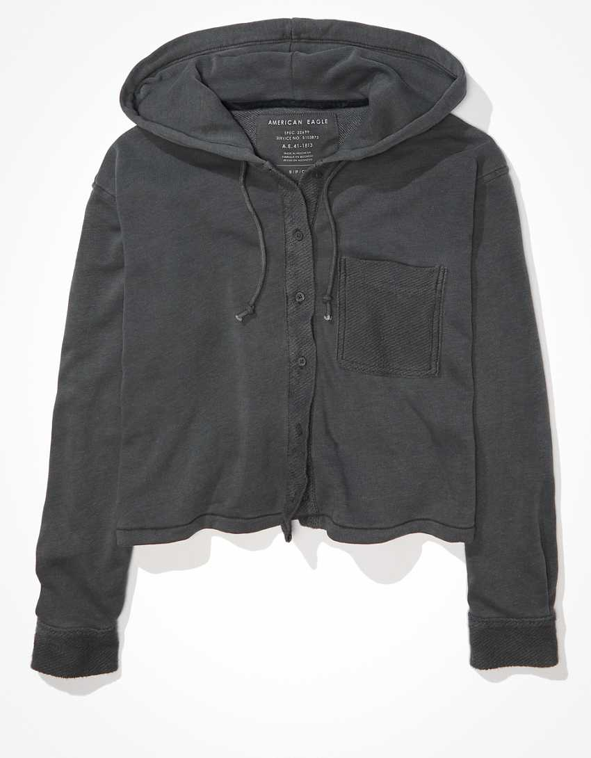 AE Fleece Shirt Jacket