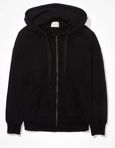 AE Forever Slouchy Zip-Up Sweatshirt