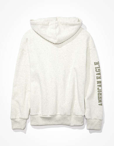 AE Fleece Graphic Zip Up Hoodie