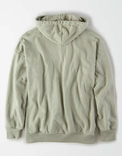AE Fleece Slouchy Zip Up Hoodie