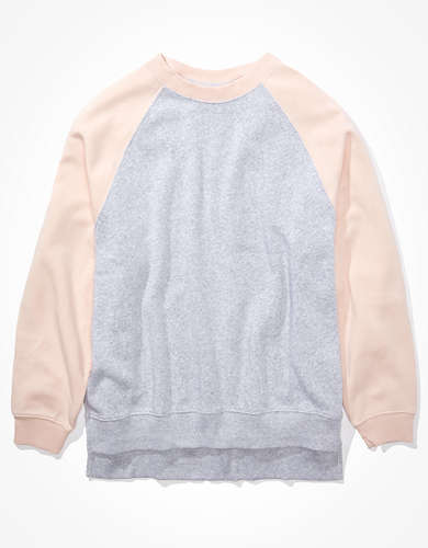 AE Forever Oversized Crew Neck Sweatshirt