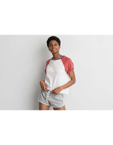 Womens Short Sleeve Top | American Eagle Outfitters