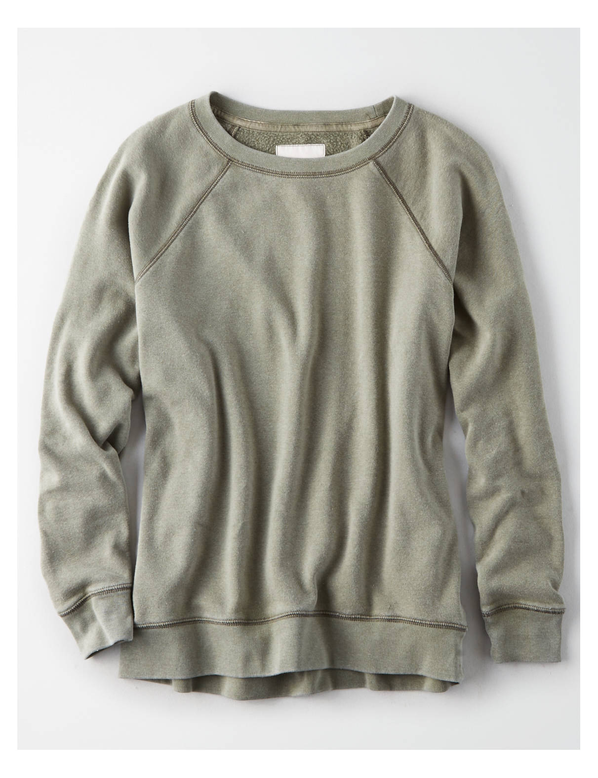AE Ahhmazingly Soft Dip-Dye Crew Neck Sweatshirt