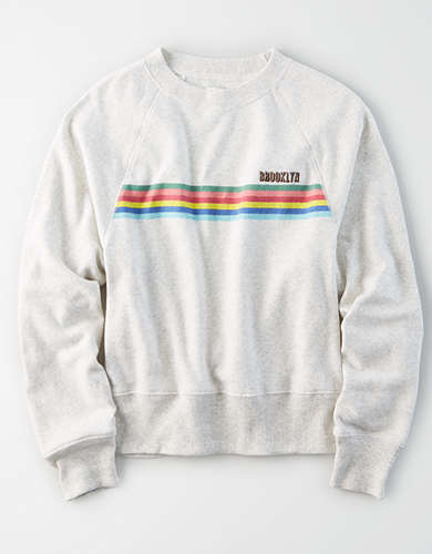 AE Crew Neck Graphic Sweatshirt