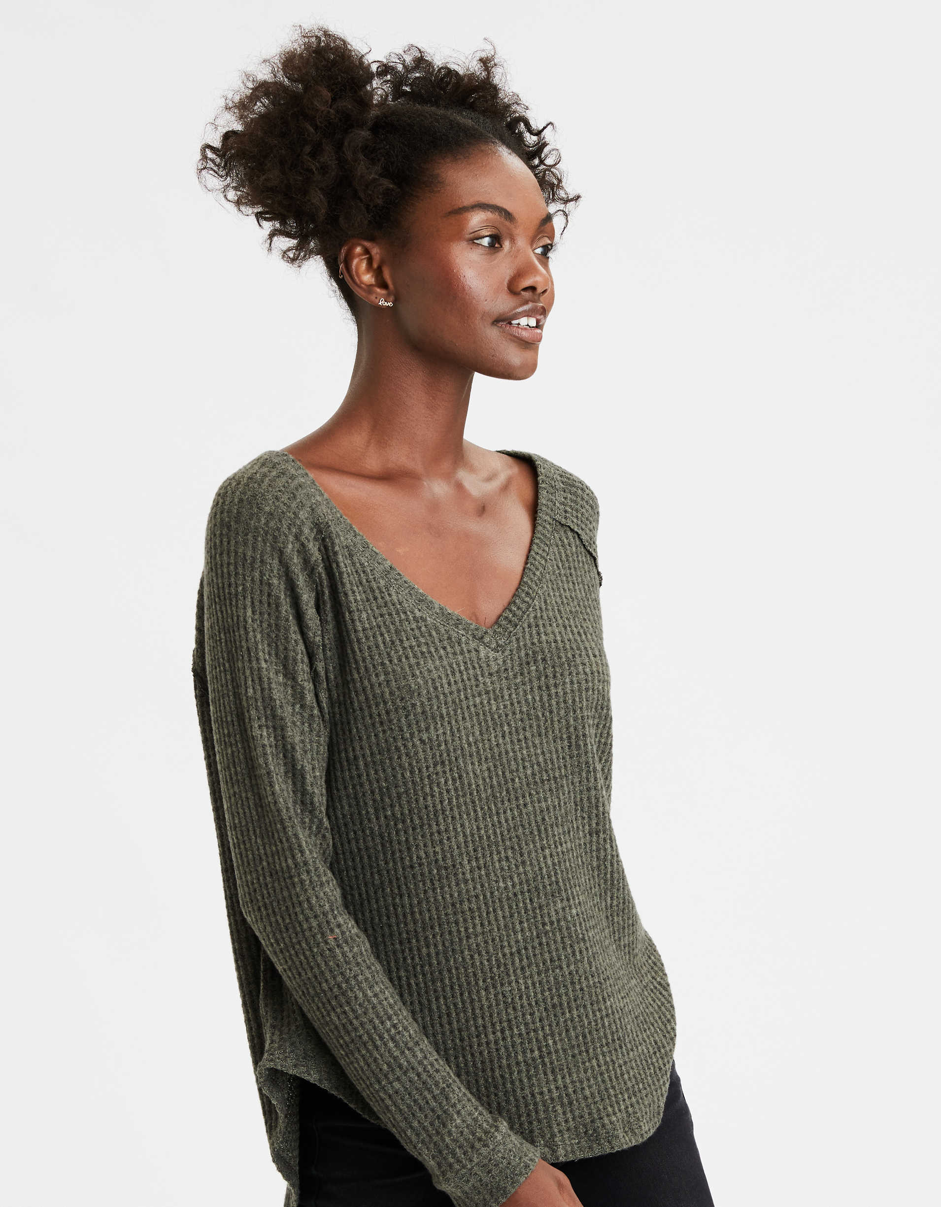 AE Soft Plush Long Sweatshirt