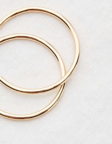 Aerie Classic Hoop Earrings