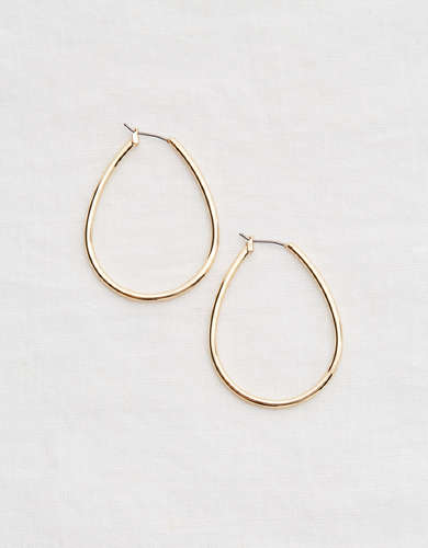 Aerie Teardrop Hoop Earrings