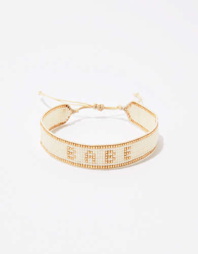 Aerie Babe Soft Beaded Bracelet
