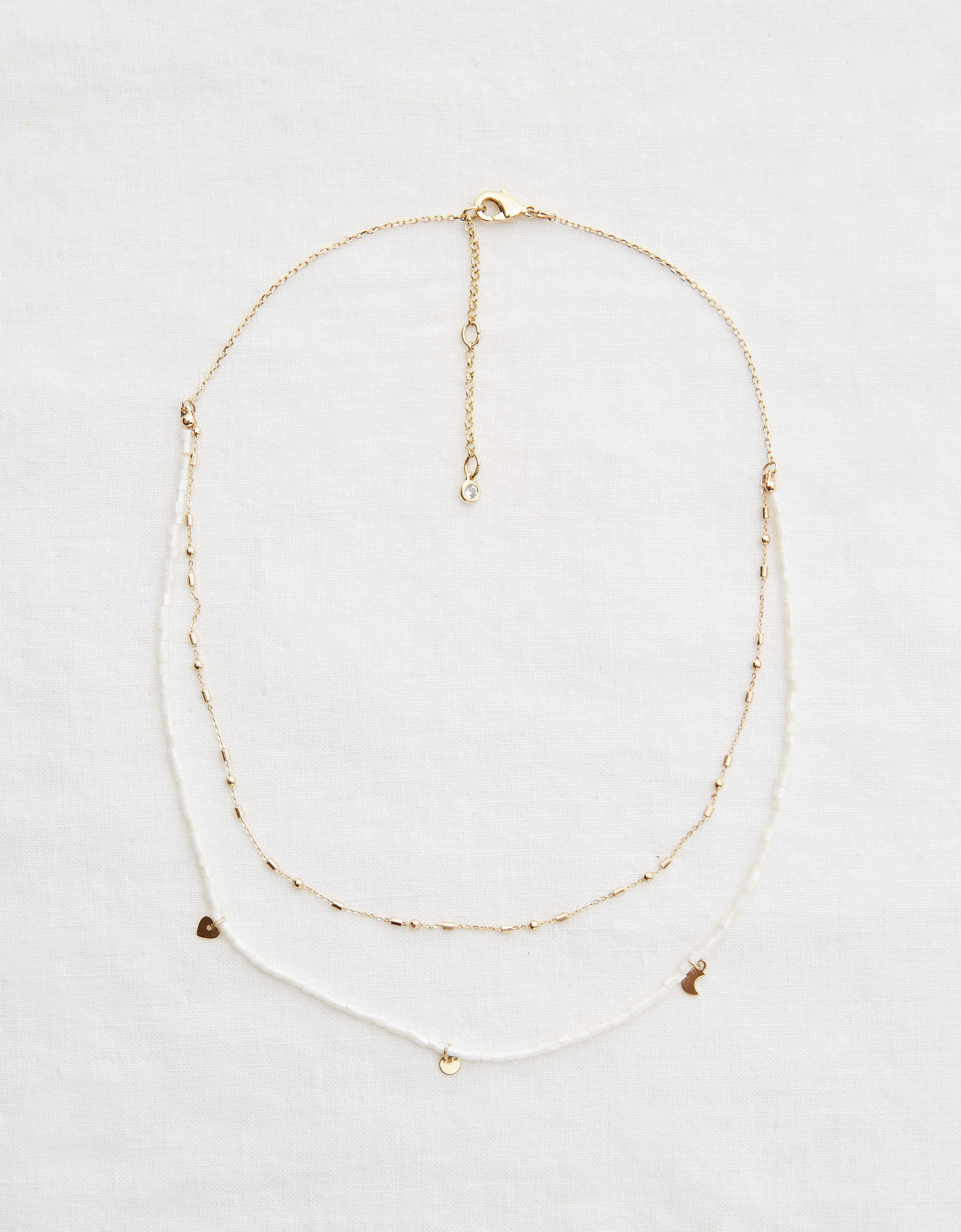 Aerie Layered Charm Necklace
