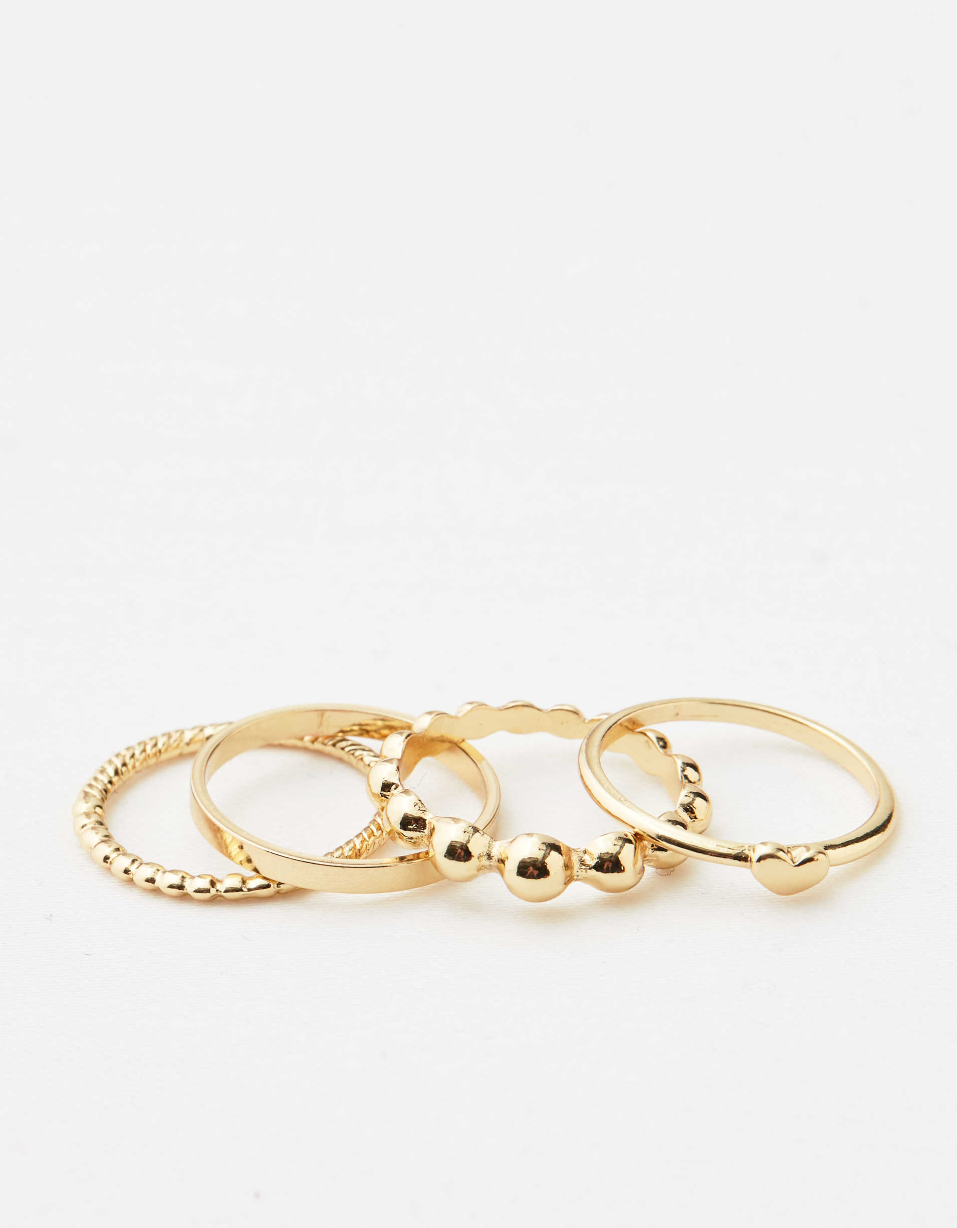 Aerie Gold Ball Ring Pack