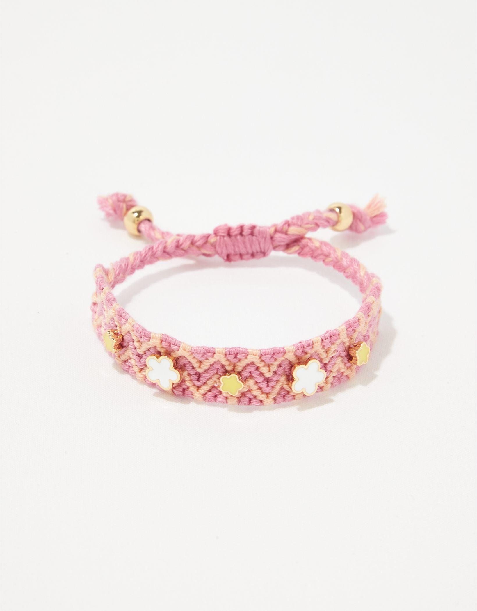 Aerie Woven Charm Bracelet
