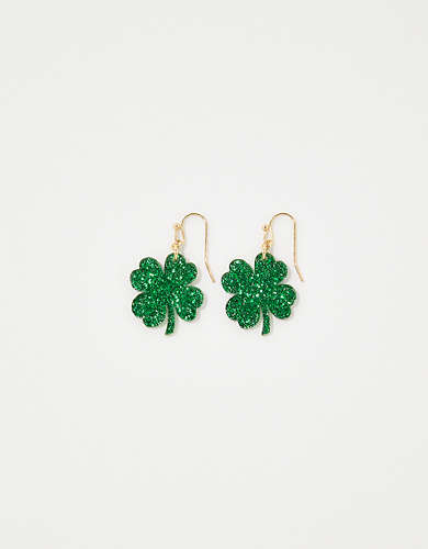 Aerie Clover Earrings