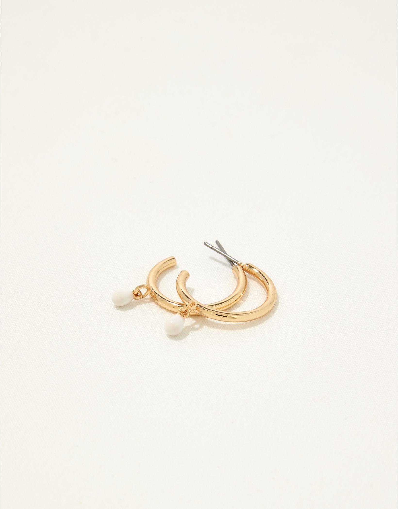 Aerie Resin Teardrop Earrings