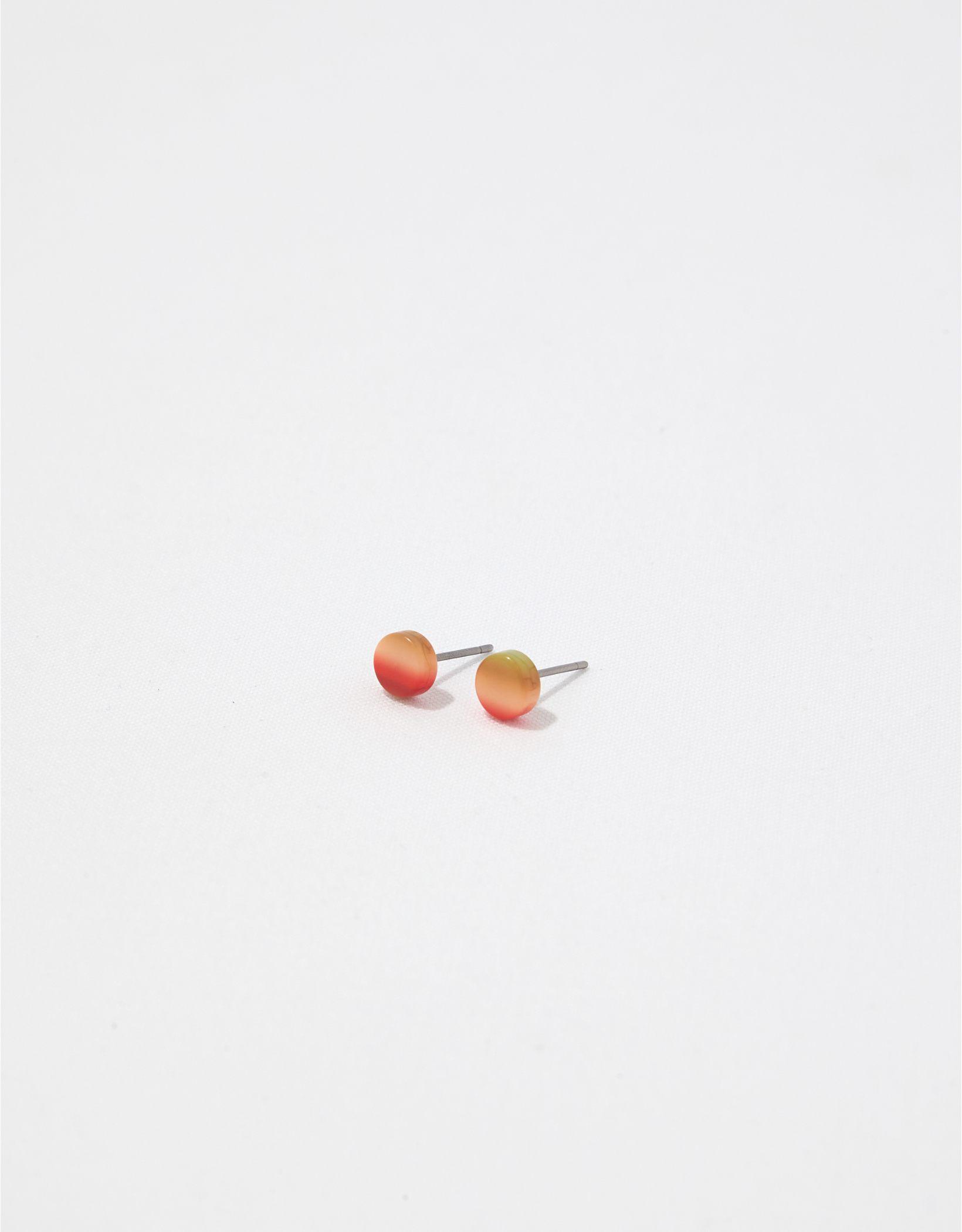 Aerie Resin Disk Stud Earrings