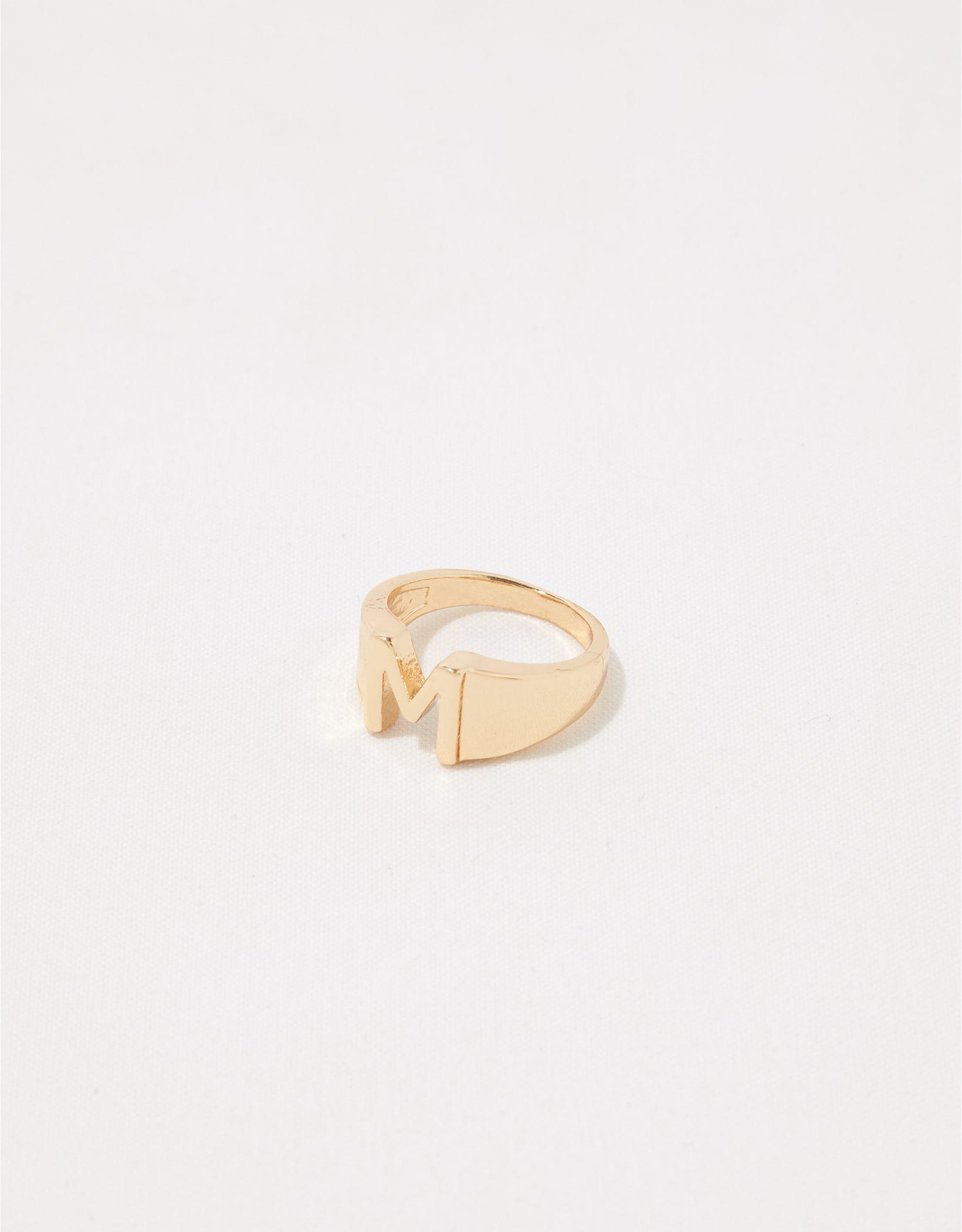 Aerie Monogram Ring - M