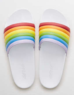 Quilted Slides by American Eagle Outfitters