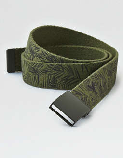 Aeo Printed Slide Belt by American Eagle Outfitters