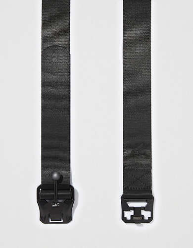 AEO Magnet Buckle Web Belt